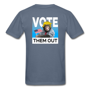 Shut Up and Vote - denim