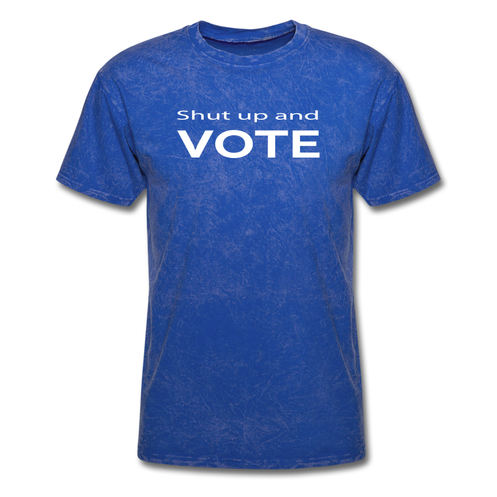 Shut Up and Vote - mineral royal