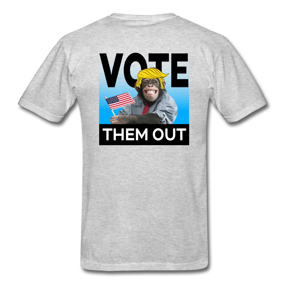 Vote Them Out - heather gray