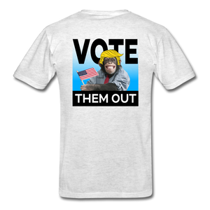 Vote Them Out - light heather gray