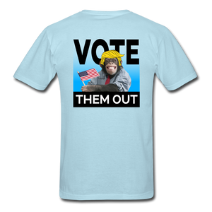 Vote Them Out - powder blue