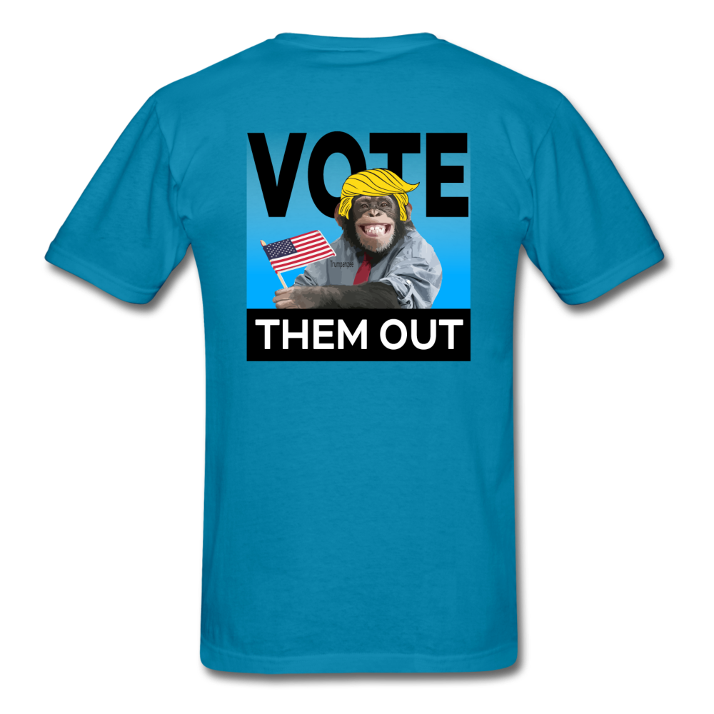 Vote Them Out - turquoise
