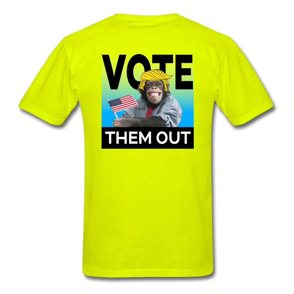 Vote Them Out - safety green
