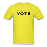 Vote Them Out - yellow