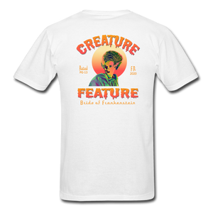 Creature Feature Show Bride of Frankenstein - white