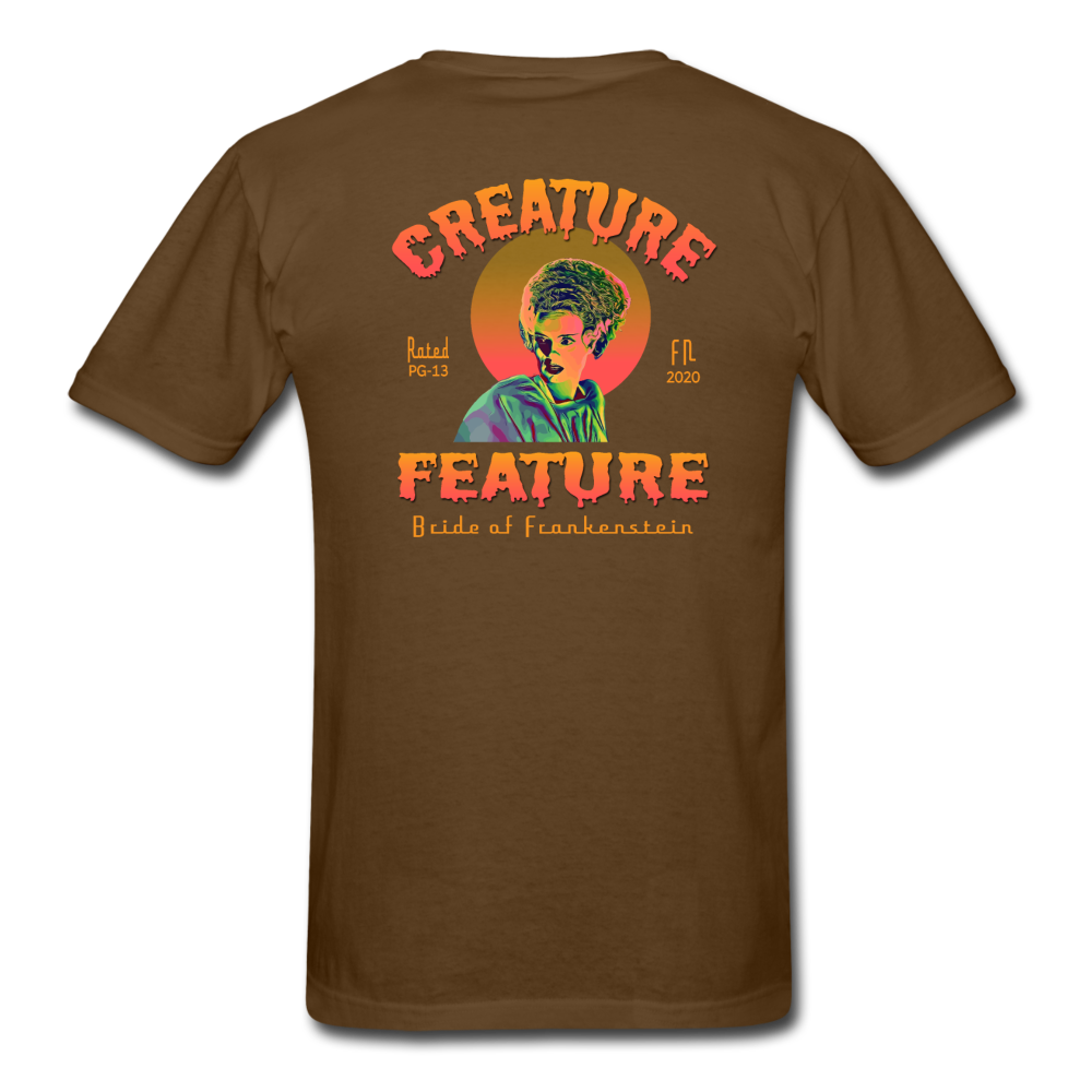 Creature Feature Show Bride of Frankenstein - brown