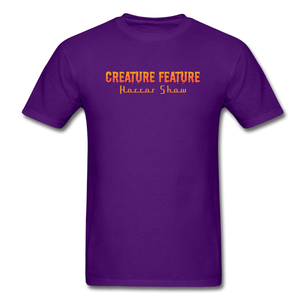Creature Feature Show Bride of Frankenstein - purple