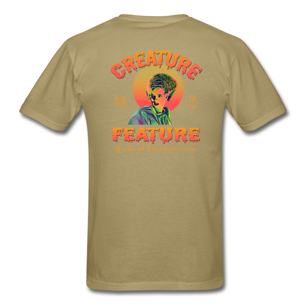 Creature Feature Show Bride of Frankenstein - khaki