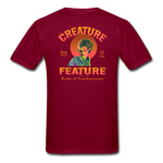 Creature Feature Show Bride of Frankenstein - burgundy