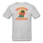Creature Feature Show Bride of Frankenstein - heather gray