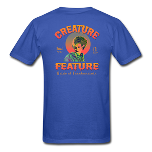Creature Feature Show Bride of Frankenstein - royal blue