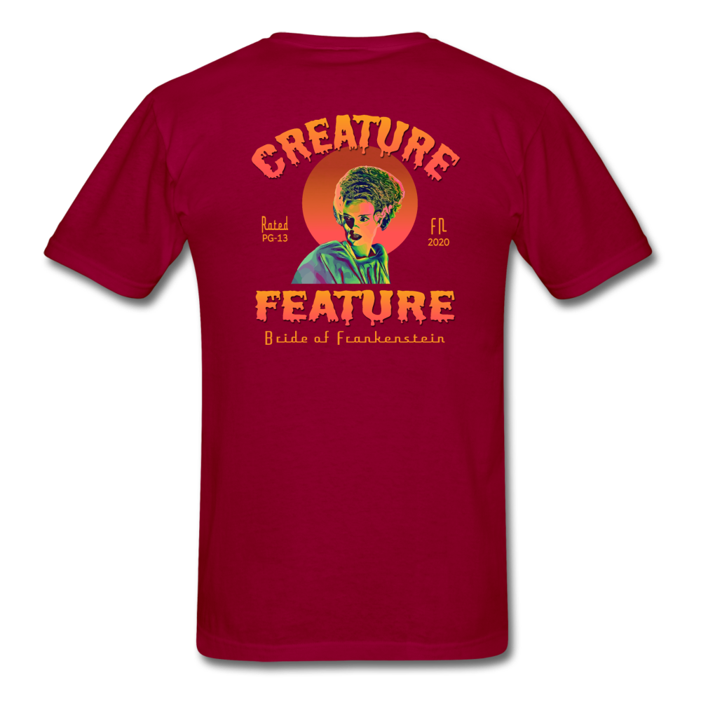 Creature Feature Show Bride of Frankenstein - dark red