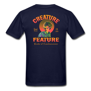 Creature Feature Show Bride of Frankenstein - navy