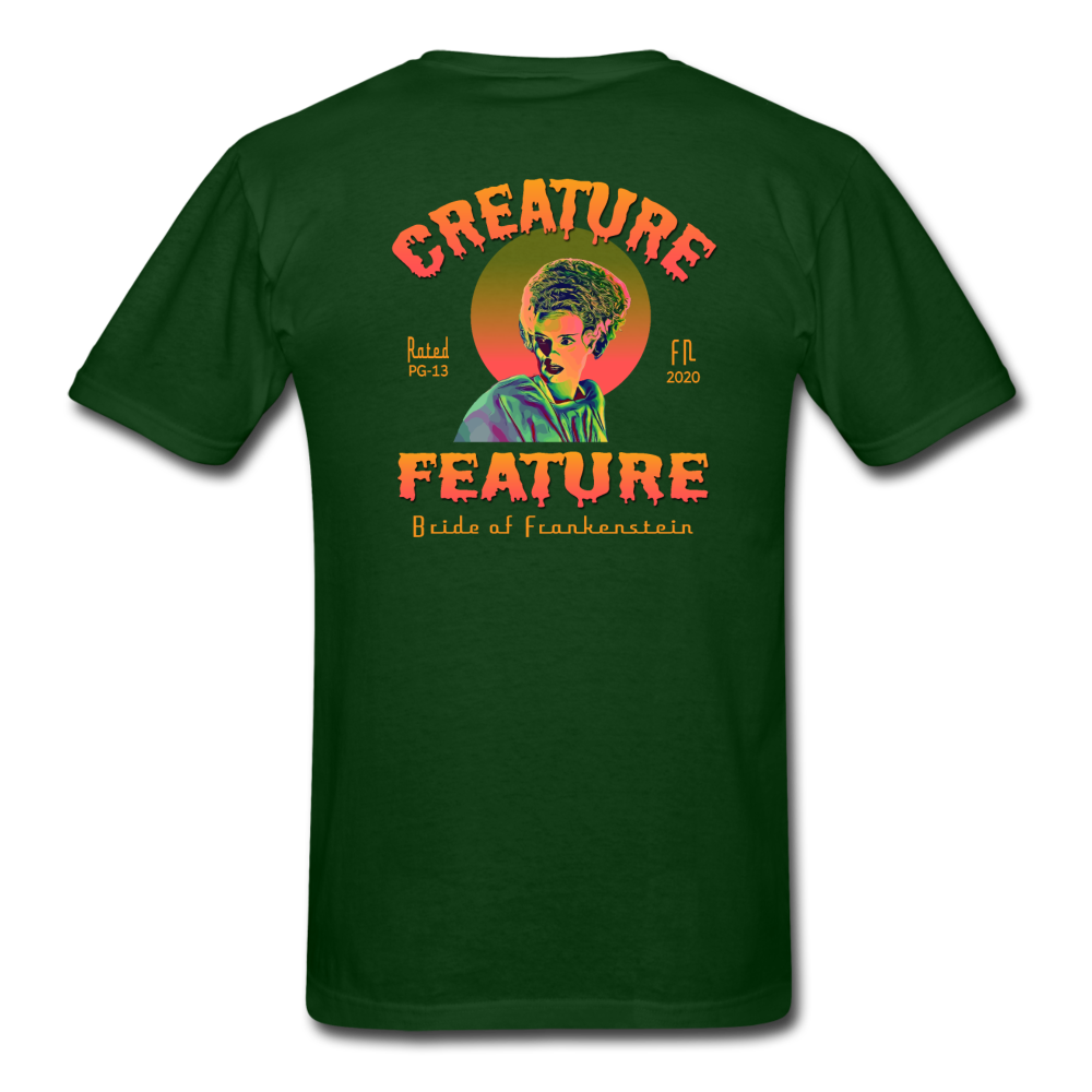 Creature Feature Show Bride of Frankenstein - forest green