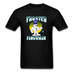 Frosted the Snowman T-Shirt - black