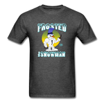 Frosted the Snowman T-Shirt - heather black
