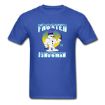 Frosted the Snowman T-Shirt - royal blue