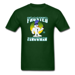 Frosted the Snowman T-Shirt - forest green