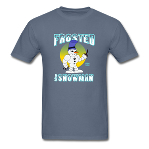 Frosted the Snowman T-Shirt - denim