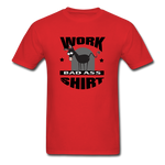 Bad Ass Work Shirt - red