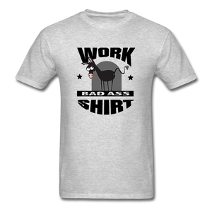 Bad Ass Work Shirt - heather gray