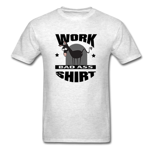 Bad Ass Work Shirt - light heather gray
