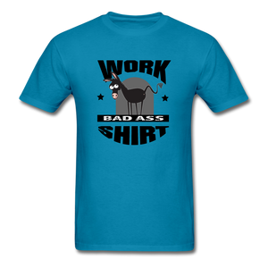 Bad Ass Work Shirt - turquoise