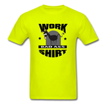 Bad Ass Work Shirt - safety green