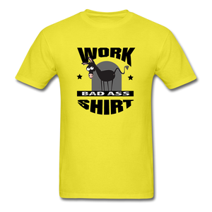 Bad Ass Work Shirt - yellow