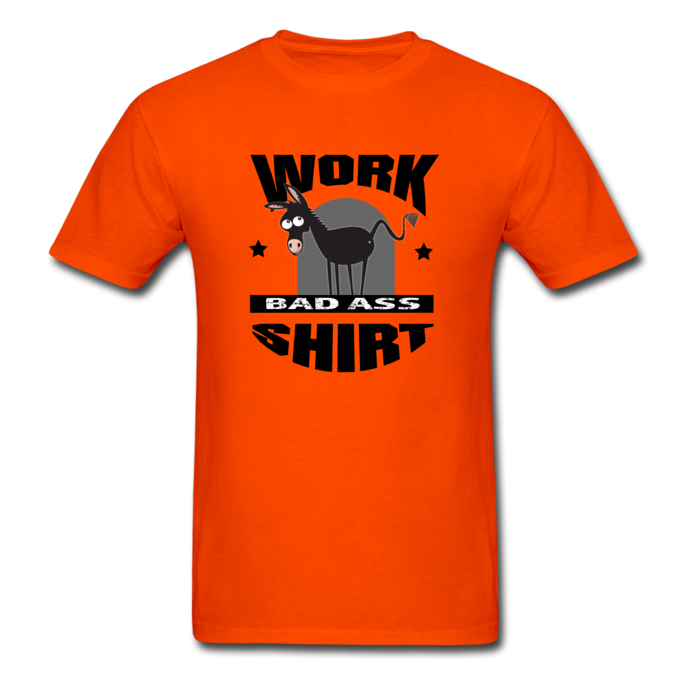 Bad Ass Work Shirt - orange