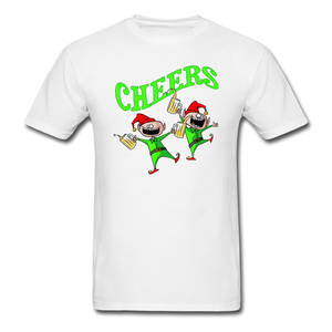 Cheers Elves Unisex Classic T-Shirt - white