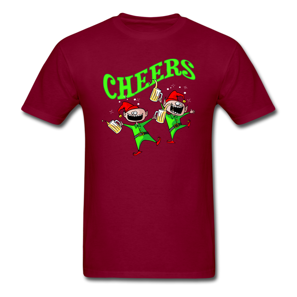 Cheers Elves Unisex Classic T-Shirt - burgundy