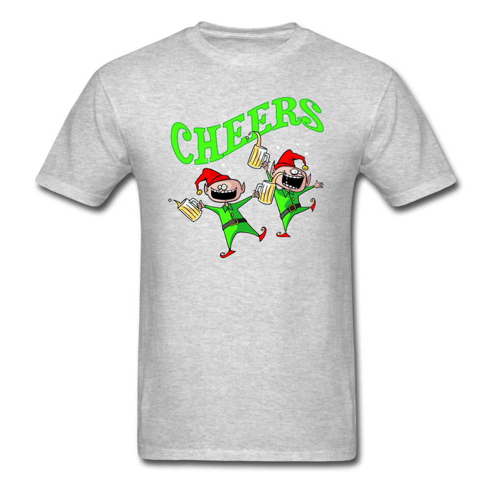 Cheers Elves Unisex Classic T-Shirt - heather gray