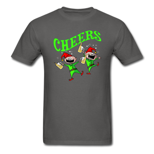 Cheers Elves Unisex Classic T-Shirt - charcoal