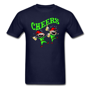 Cheers Elves Unisex Classic T-Shirt - navy