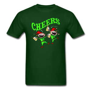 Cheers Elves Unisex Classic T-Shirt - forest green