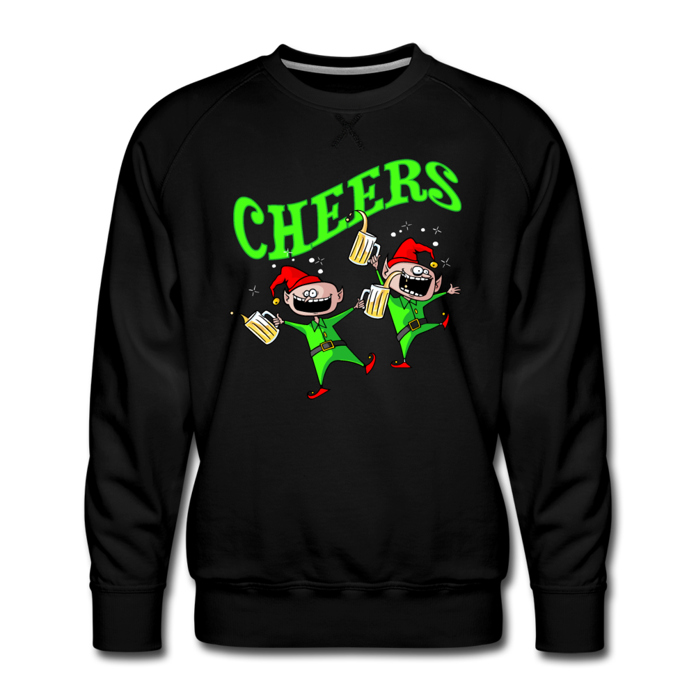 Cheers Elves Premium Sweatshirt - black