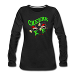 Cheers Elves Women's Premium Long Sleeve T-Shirt - black