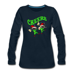 Cheers Elves Women's Premium Long Sleeve T-Shirt - deep navy