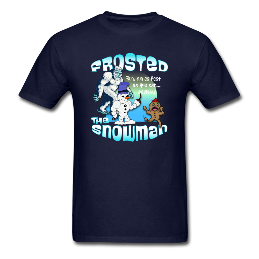 Frosted the Snowman Punk - navy