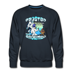 Frosted the Snowman Punk Sweatshirt - navy