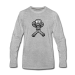 Gingerbread Nightmare Long Sleeve T-Shirt - heather gray