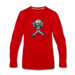 Gingerbread Nightmare Long Sleeve T-Shirt - red