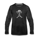 Gingerbread Nightmare Long Sleeve T-Shirt - charcoal gray