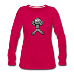 Gingerbread Nightmare Women's Premium Long Sleeve T-Shirt - dark pink