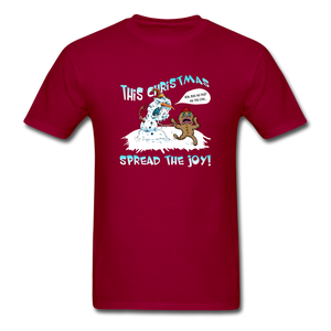 Spread the Joy Classic T-Shirt - dark red
