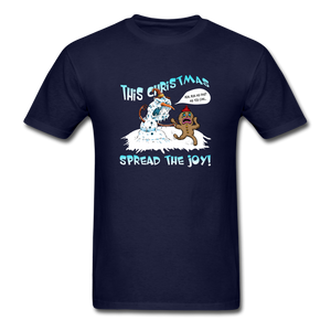 Spread the Joy Classic T-Shirt - navy