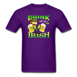 Drink Like The Irish 3 - purple