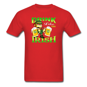 Drink Like The Irish 3 - red