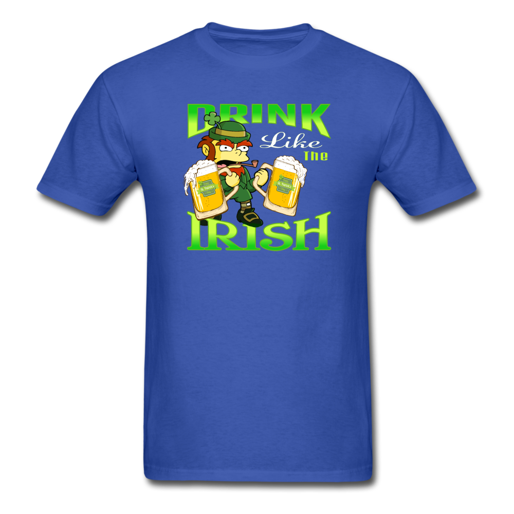 Drink Like The Irish 3 - royal blue